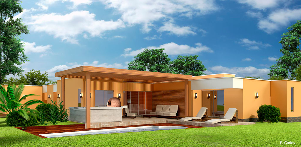 Diseño y Construccion de Casas de Campo